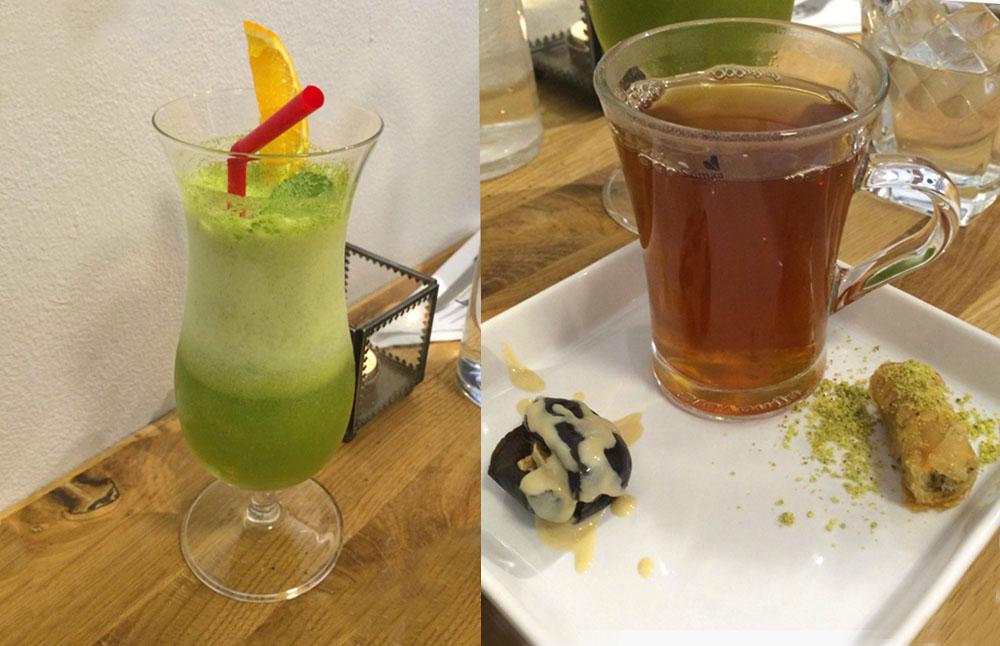Zeytuun - juomat ja jälkiruoka - LE COOL Tampere