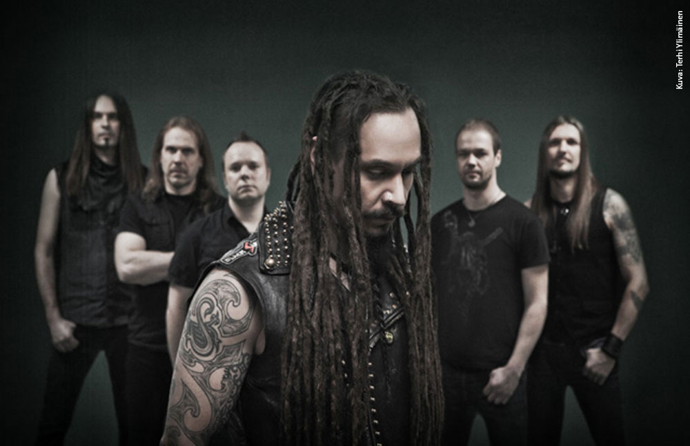 Amorphis - Terhi Ylimäinen - LE COOL Tampere