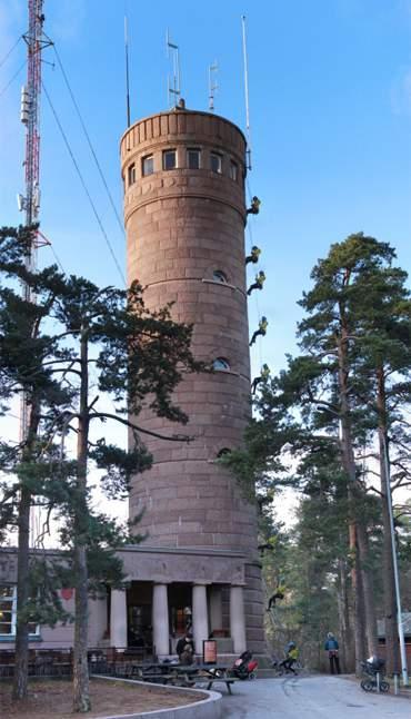 Köysilaskeutuminen - Pyynikin näkötorni - LE COOL Tampere