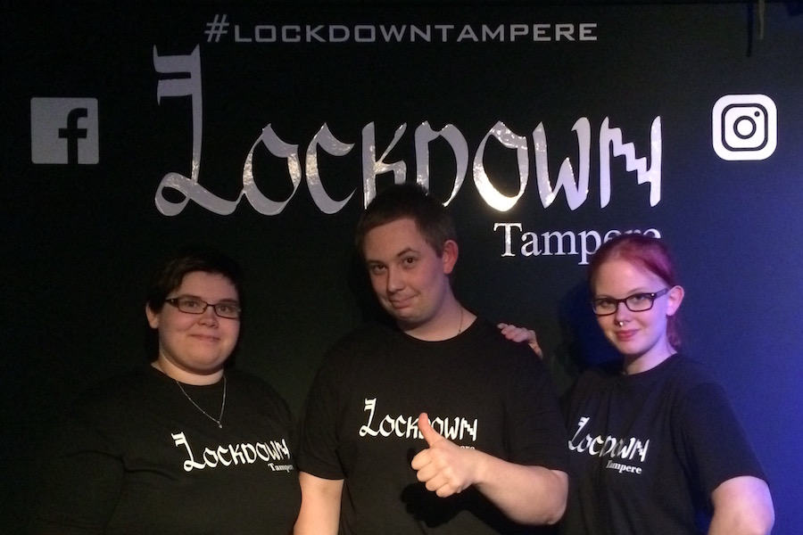 Lockdown-tiimi-LE-COOL-Tampere