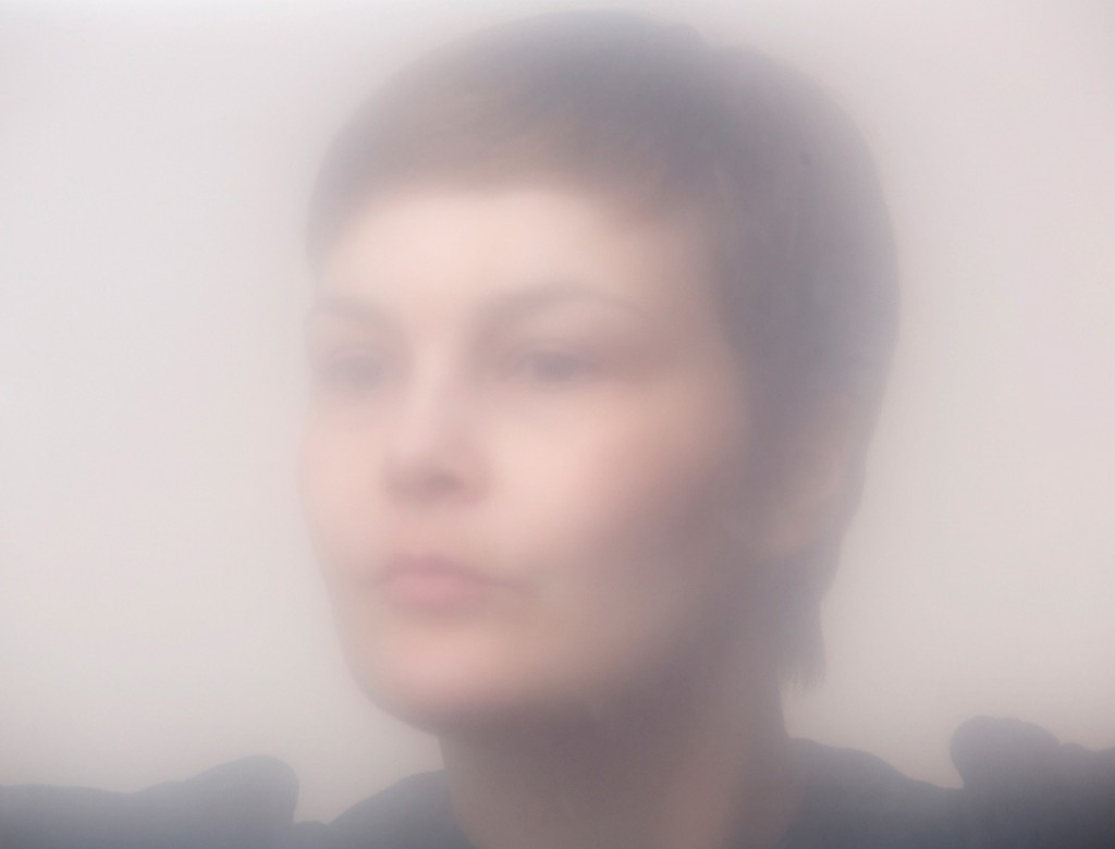 Portrait of photographer Leena Ylä-Lyly